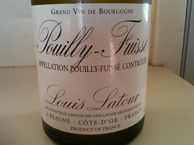 2005 Louis Latour Pouilly-Fuissé