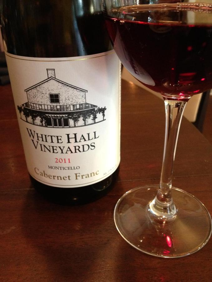 2011 White Hall Vineyards Cab Franc