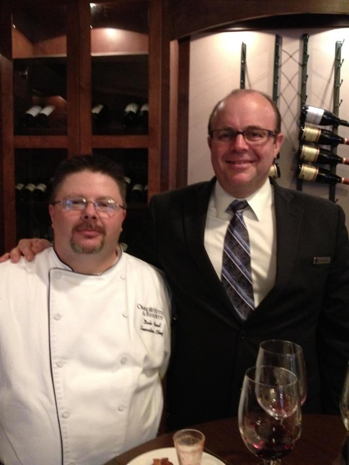 Executive Chef Dale Ford and Food and Beverage Director Shawn Jernigan