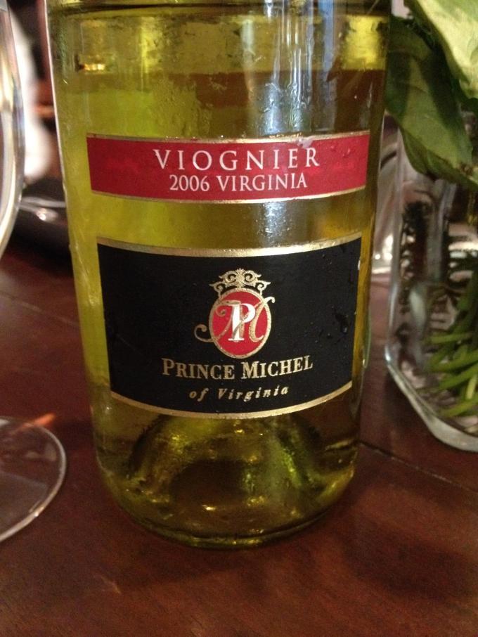 2006 Prince Michel Viognier