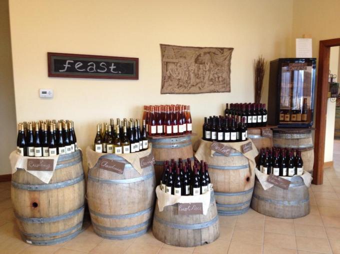 Ravines Wine Cellars tasting room