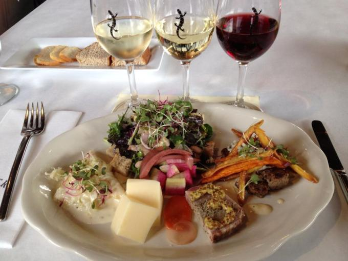 Eating and drinking locally at Red Newt Bistro