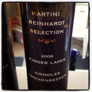 Martini Reinhardt Selection Vignoles Trockenbeeren