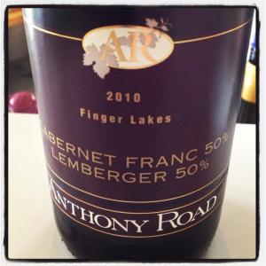 Anthony Road Cabernet Franc-Lemberger Blend