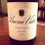 2009 Buena Vista Pinot Noir, Carneros