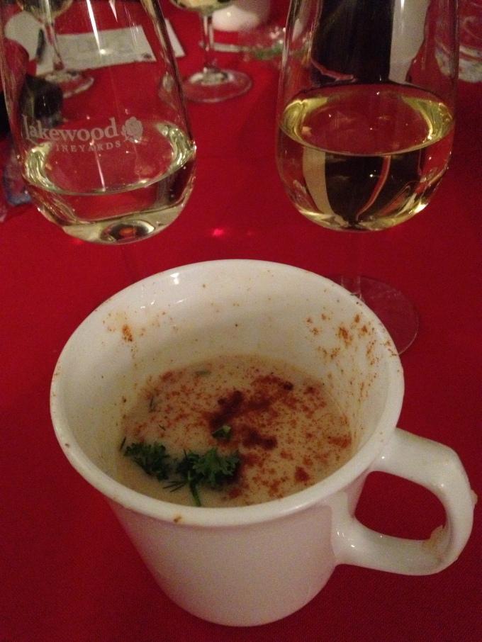 Chardonnay blind tasting