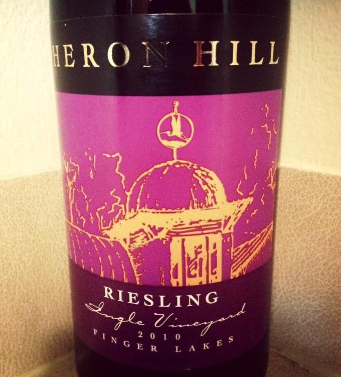 2010 Heron Hill Ingle Vineyard Riesling