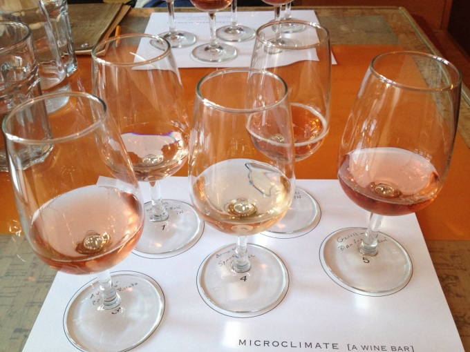 Sparkling Rosé Flight