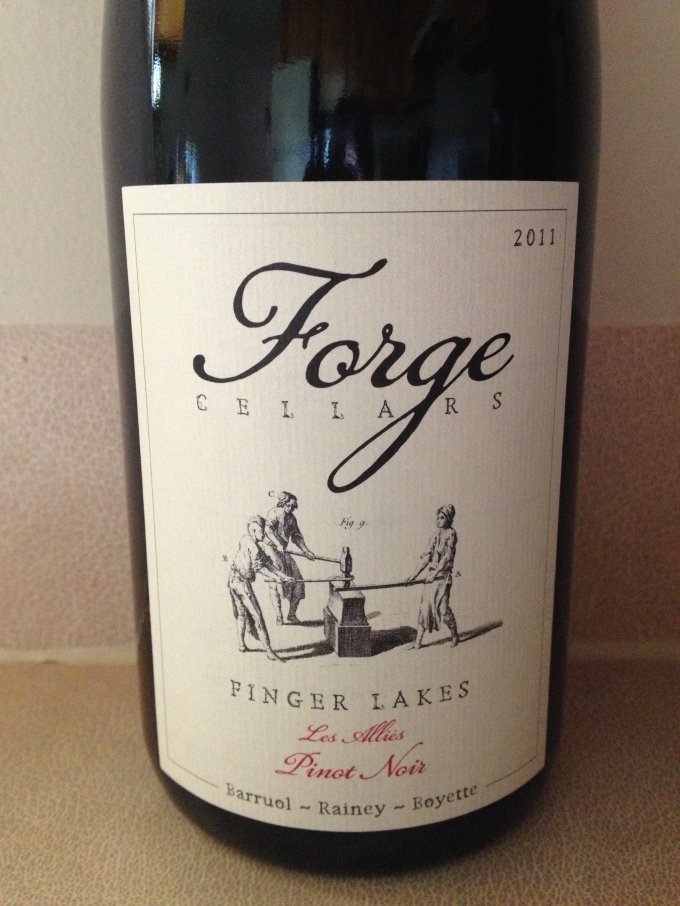 2011 Forge Cellars Pinot Noir Les Alliés