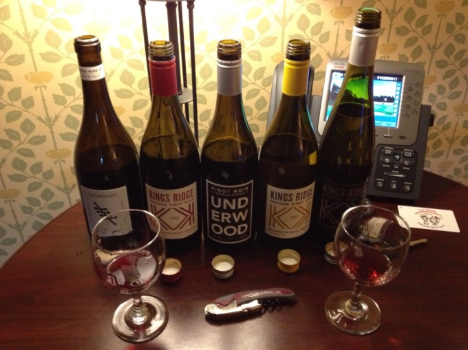 My Union Wine Co. tasting,