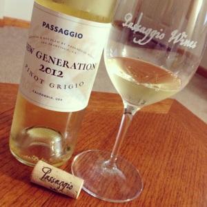 2012 Passaggio New Generation Pinot Grigio