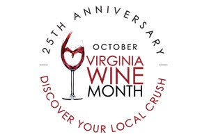 Virginia Wine Month logo, http://www.virginia.org/winemonth/