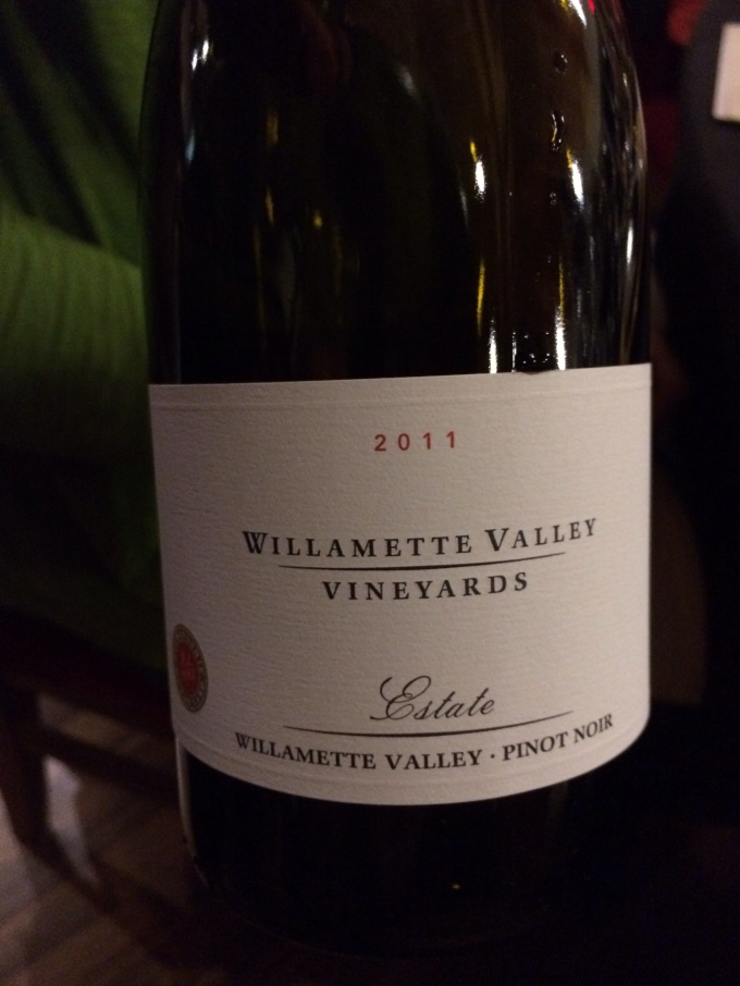 2011 Willamette Valley Vineyards Estate Pinot Noir