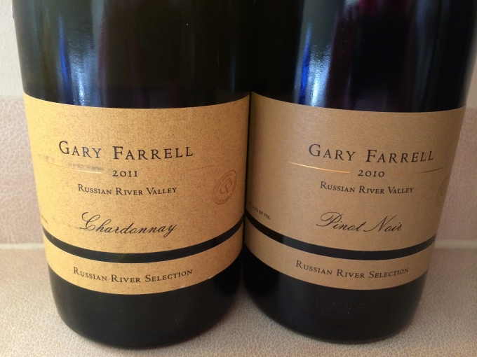 2011 Gary Farrell Chardonnay and 2010 Pinot Noir, Russian River Valley