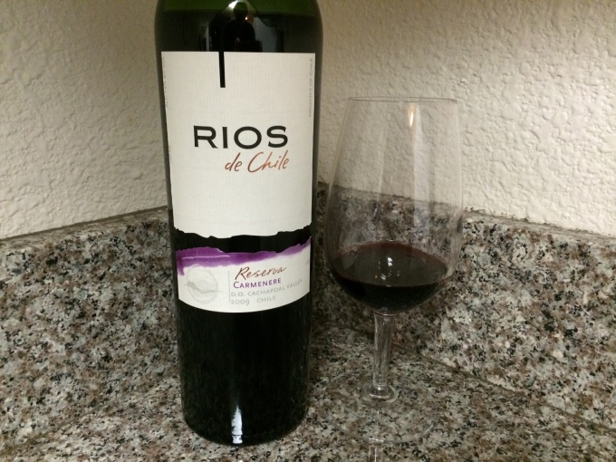 2009 Rios de Chile Reserva Carmenère