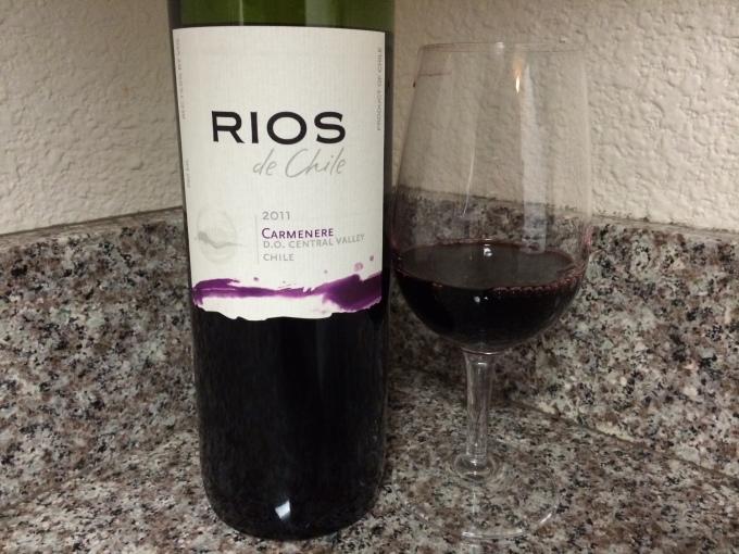 2011 Rios de Chile Carmenère