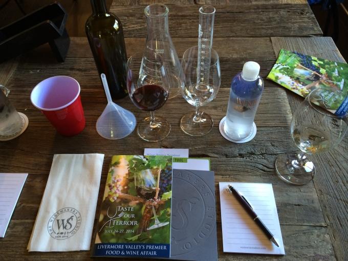 Blending With Wente's Winemakers Studio