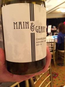 Main and Geary Chardonnay