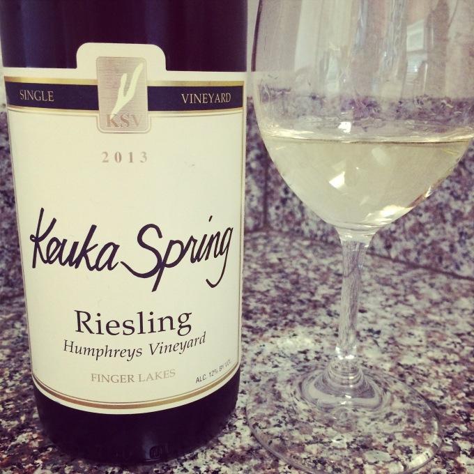2013 Keuka Spring Riesling