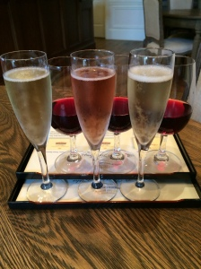 Sparkling and Pinot Flights at Domaine Carneros