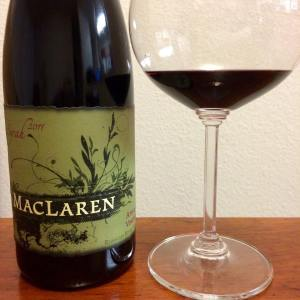 MacLaren Wine Company Atoosa's Vineyard Syrah 2011
