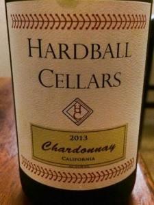 Hardball Cellars Chardonnay 2013