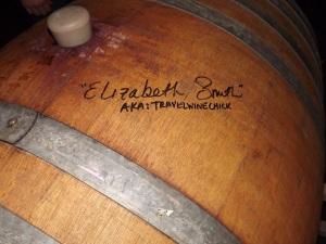 Signed Passaggio Wine Barrel