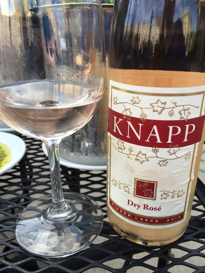 Knapp Finger Lakes Dry Rosé 2014