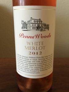 2012 Penns Woods White Merlot