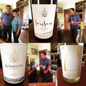 My visit to Kemmeter Wines