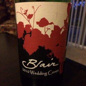 Blair 2010 Wedding Cuvée