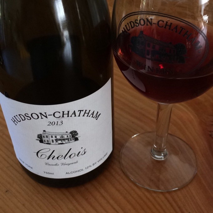 My second taste of the 2013 Hudson-Chatham Chelois