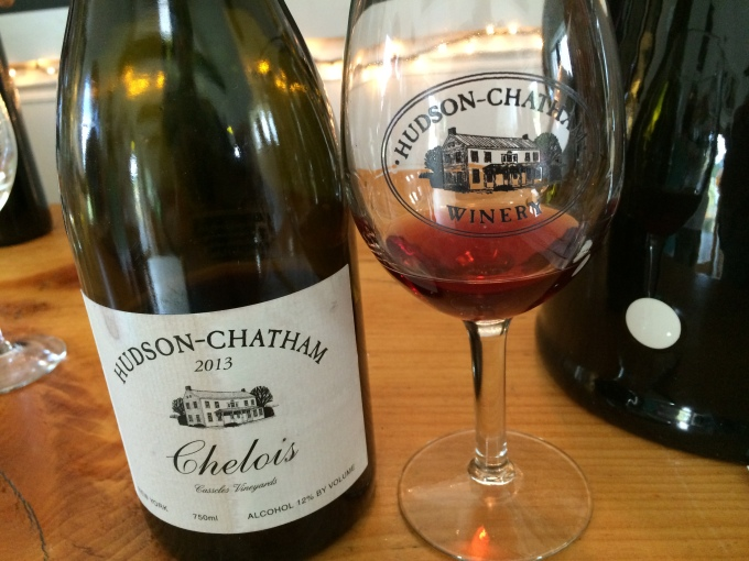 My first taste of the 2013 Hudson-Chatham Chelois