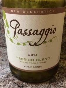 2014 Passaggio New Generation Passion Blend