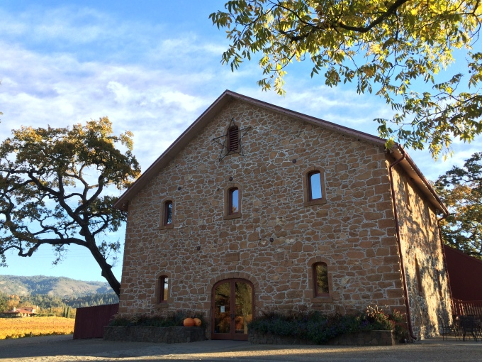 The original stone barn winery built by Bernard and Anne Ehlers in 1886