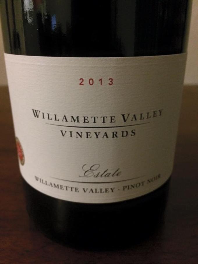 2013 Williamette Valley Vineyards Estate Pinot Noir