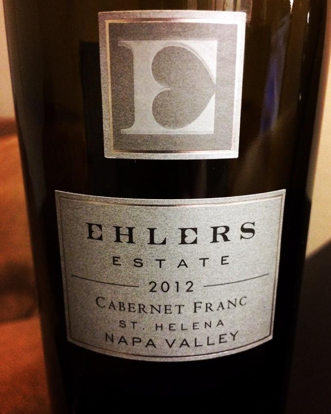 2012 Ehlers Estate Cabernet Franc