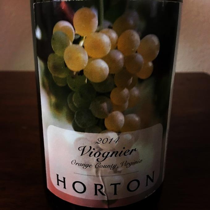 2014 Horton Vineyards Viognier