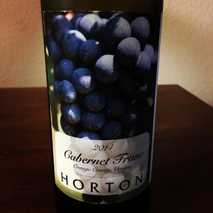 2014 Horton Vineyards Cabernet Franc
