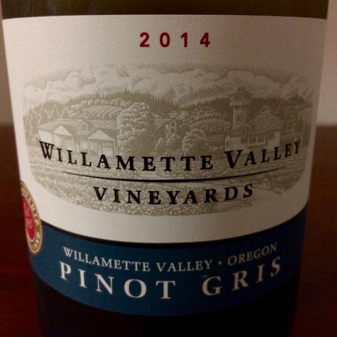 2014 Willamette Valley Vineyards Pinot Gris, Willamette Valley, Oregon