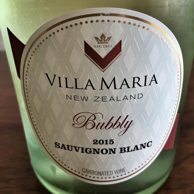 2015 Villa Maria Bubbly Sauvignon Blanc