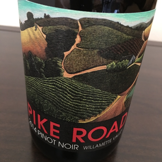 2014 Pike Road Pinot Noir, Willamette Valley