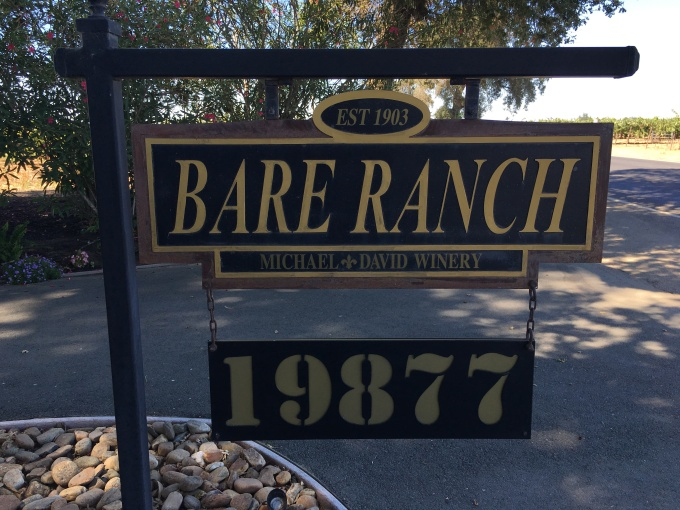 Bare Ranch, my home for five days