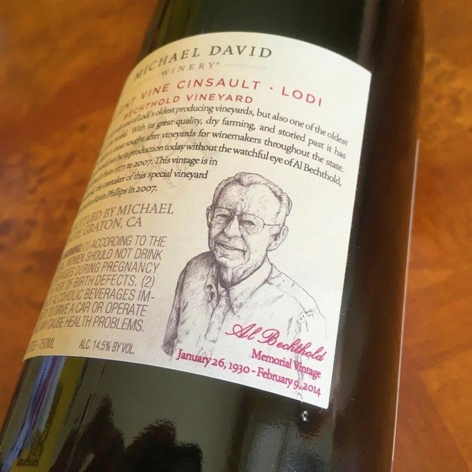 2014 Ancient Vine Cinsault