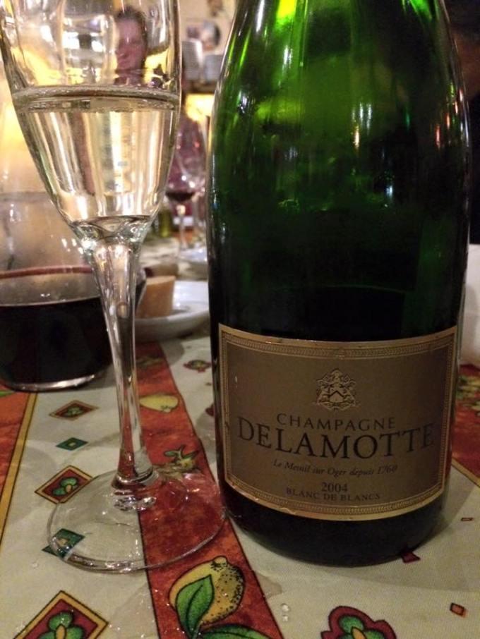 Champagne Delamotte Blanc de Blancs 2004