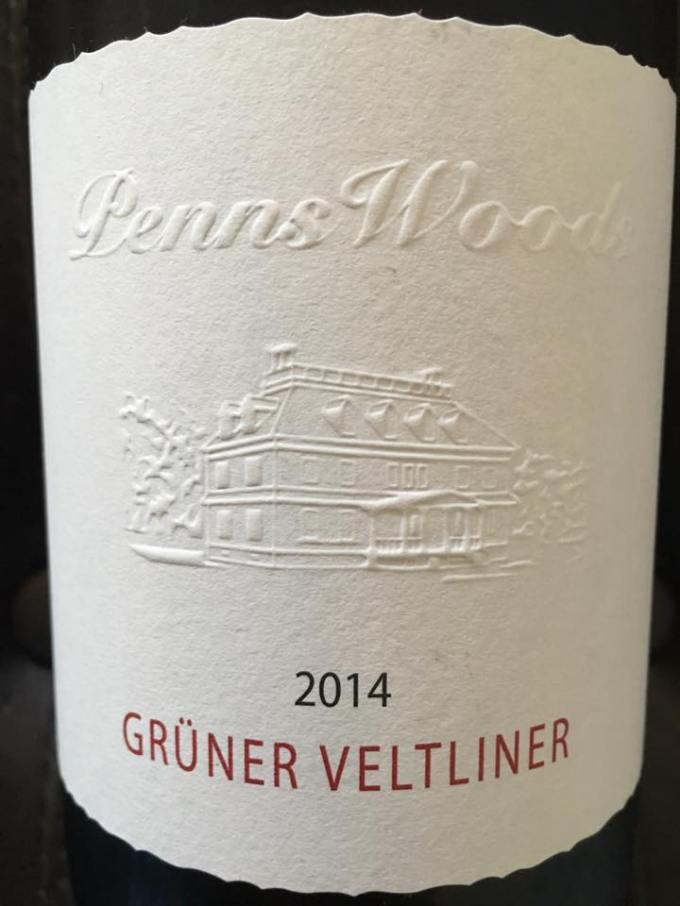 2014 Penns Woods Grüner Veltliner