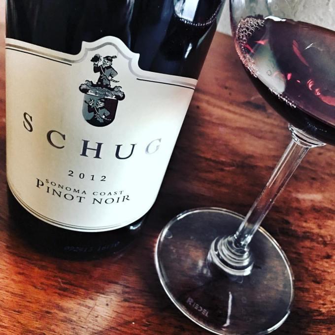 2012 Schug Pinot Noir