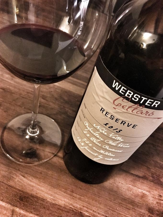 2013 Webster Cellars Reserve Proprietary Red Blend