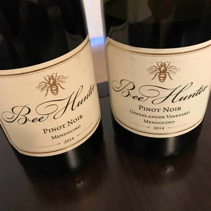 Pinot Noirs Together