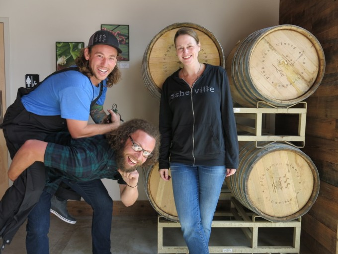 The plēb urban winery team